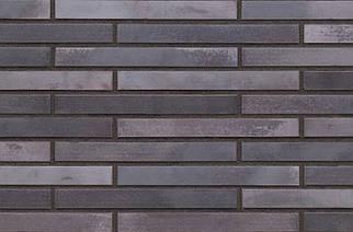 Клинкерная плитка KING KLINKER серии KING SIZE Лонг формата 490х52х14, LF18 Obsidian shadow