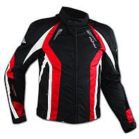 Женская куртка Cordura Спорт Дышащая Защита Мотоцикла CE Тепловой Жилет Красный