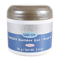 IBD LED/UV Builder Gel Pink II 95г - конструирующий камуфлирующий розовый гель. Холодный оттенок
