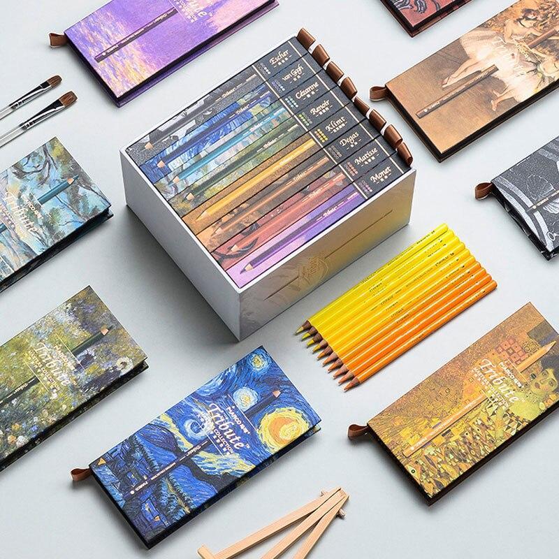 Карандаши цветные Marco Tribute Masters Collection 80 цветов 3300-80