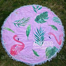 Пляжный  коврик полотенце Размер 150 см.