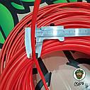 Шланг пластиковый красный 6х4 мм., фото 2