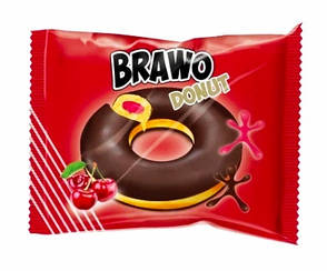 """Донат """"Bravo"""" вишня 50 гр 24 шт"""