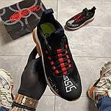 Женские кроссовки Versace Cross Chainer Black, женские кроссовки версаче кросс чайнер, фото 3