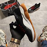 Женские кроссовки Versace Cross Chainer Black, женские кроссовки версаче кросс чайнер, фото 2