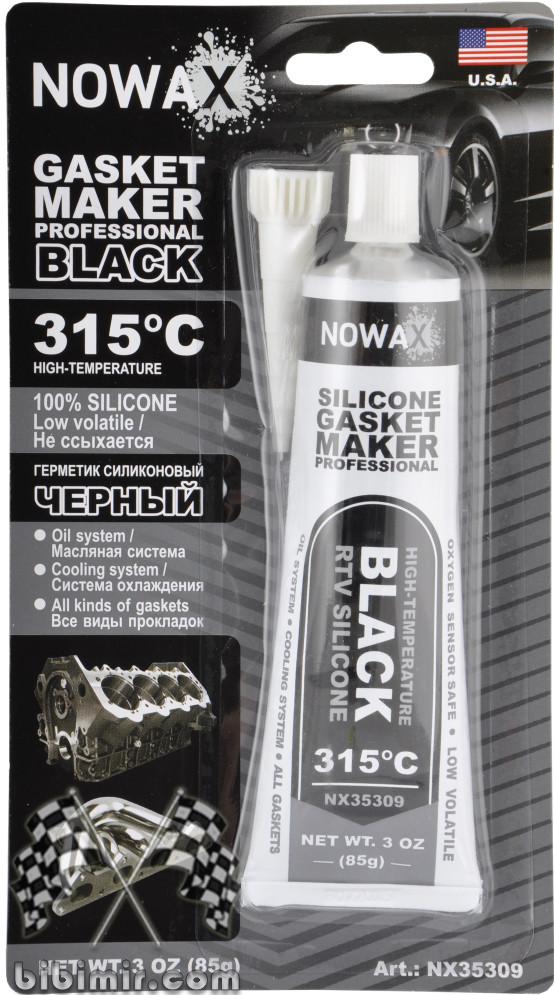 черный силиконовый герметик автомобильный