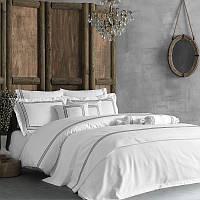 Комплект постельного белья сатин премиум 200*220 TM Tivolyo Home LINE BEYAZ
