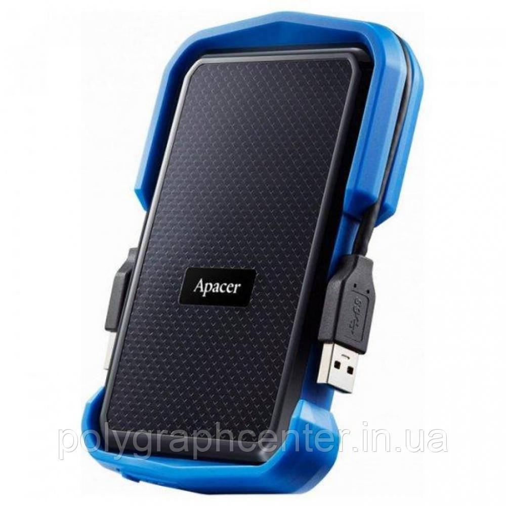 Жесткий диск внешний HDD 1024 Gb Apacer AC631 USB 3.1 Blue