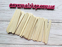 50 штук Шпатель деревянный, одноразовый 15х1,7 см, 50 штук, фото 1