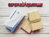 Шпатель деревянный (одноразовый) 100 штук, фото 1