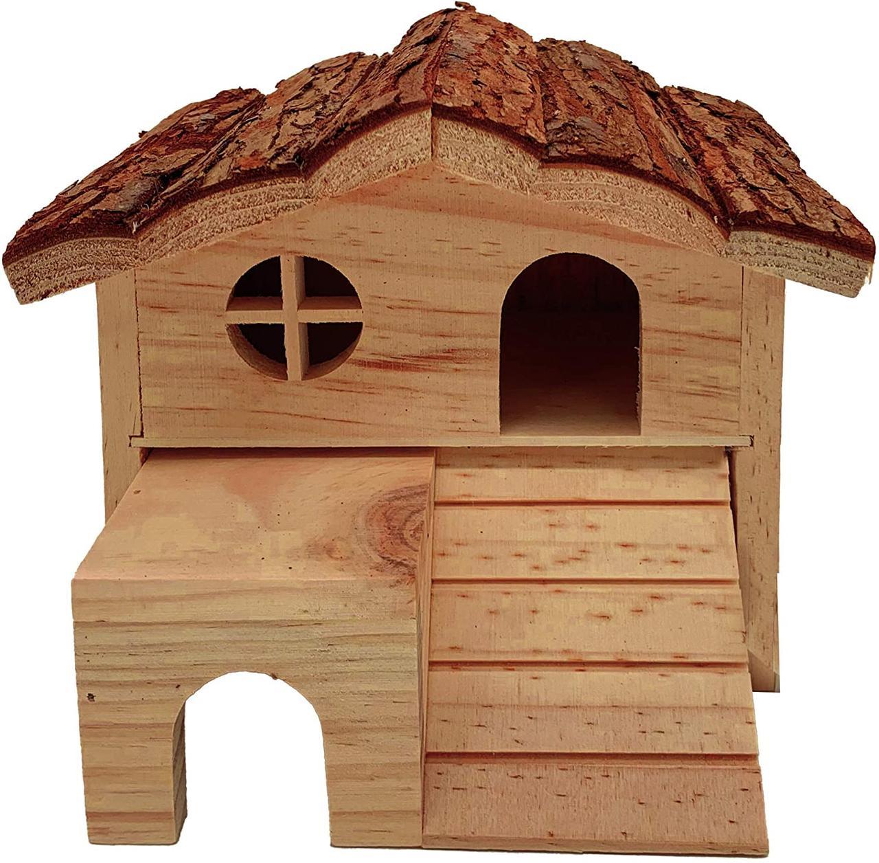 Деревянный дом для грызуна Хекман, 17х15х13 см