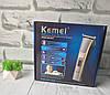Беспроводная машинка для стрижки Kemei KM-5017, фото 8