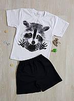"Костюм детский ""Енот"" футболка + шорты. Костюм"