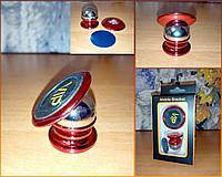 Магнитный универсальный держатель для телефона, держатель для смартфона Mobile Bracket. Красный