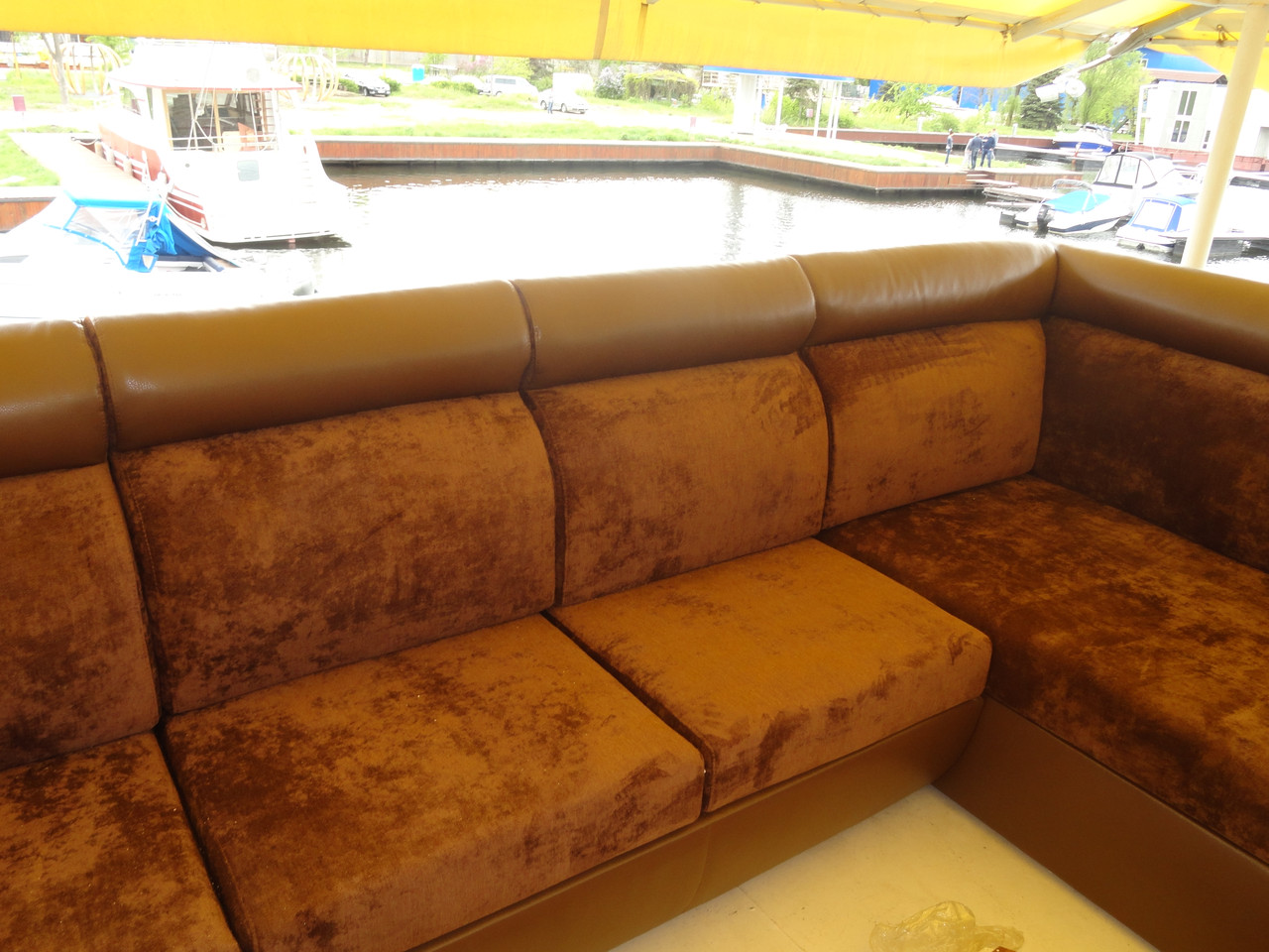 перетяжка углового дивана масивного цена 2 000 грн заказать в