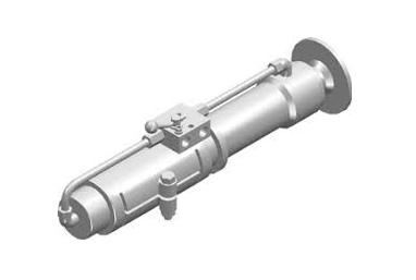 Гидроцилиндр аутригера двустороннего действия с фланцевым креплением Contarini серии IP-F