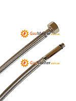Шланг в нержавеющей оплетке для смесителя (длинный штуцер) Kottmann М10-1/2 В 60 см