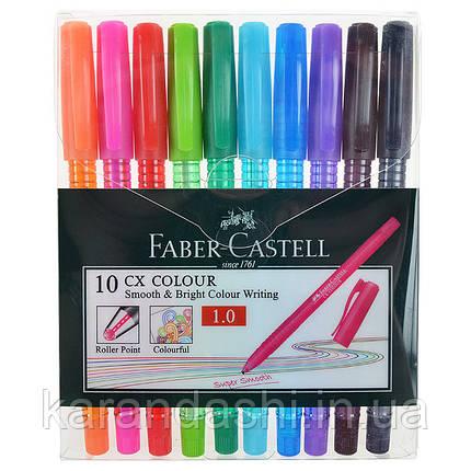 Набор Ручек 10 штук Faber Castell CX COLOUR 247201 1,0 мм, фото 2