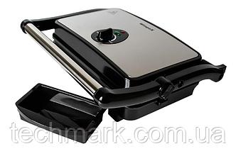 Многофункциональный Гриль (электрогриль) прижимной сэндвичница, панини гриль WIMPEX BBQ WX-1065