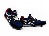 Мужские кроссовки текстильные летние синие Anser NS blue 103