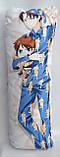 Дакімакура Подушка обнімашка 100х40 см із змінною наволочкою Леві, фото 2