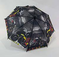 """Детский зонтик для мальчика с машинками и мотоциклами на 4-8 лет то фирмы """"Mario"""""""