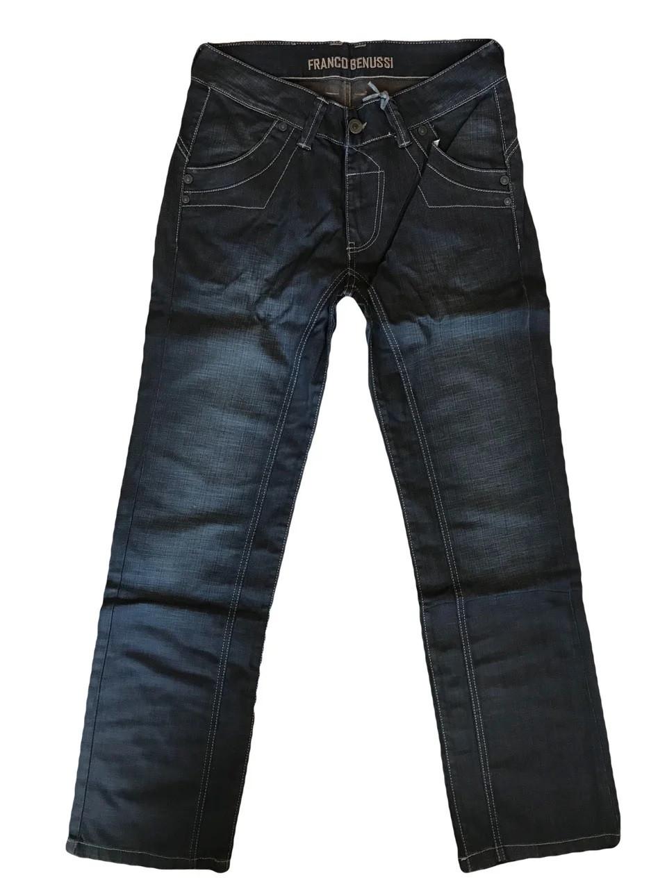 Джинсы мужские Franco Benussi FB 1235 темно-синие