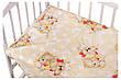 Детское постельное сменное белье в кроватку / в манеж Qvatro Gold 3в1: наволочка, пододеяльник, простынь, фото 4