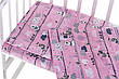Детское постельное сменное белье в кроватку / в манеж Qvatro Gold 3в1: наволочка, пододеяльник, простынь, фото 6