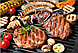 Многофункциональный Гриль (электрогриль) прижимной сэндвичница, панини гриль WIMPEX BBQ WX-1065, фото 7