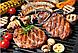 Многофункциональный Гриль сэндвичница, панини гриль WIMPEX BBQ WX-1066, фото 5
