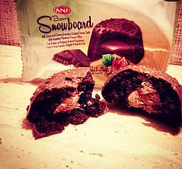 Кекс шоколадный «Bravo» орех 50 гр 24 шт
