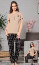 Женская летняя пижама Nude blossom