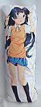 Дакімакура Подушка обнімашка 100х40 см із змінною наволочкою Куронеко, фото 3