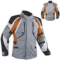 Куртка Внедорожный Мотоцикл Водонепроницаемый Ткани Защиты CE воздухозаборники Оранжевый, фото 1