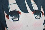 Дакімакура Подушка обнімашка 100х40 см із змінною наволочкою Мегумi, фото 5