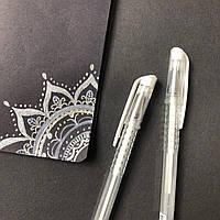 Ручка с белой пастой