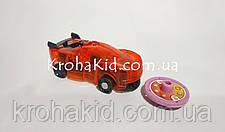 Машинка красная дикие скричеры Рева Дактиль Screechers Wild BD1015 прыжок на 360 (красный), фото 2