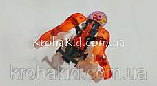 Машинка красная дикие скричеры Рева Дактиль Screechers Wild BD1015 прыжок на 360 (красный), фото 3