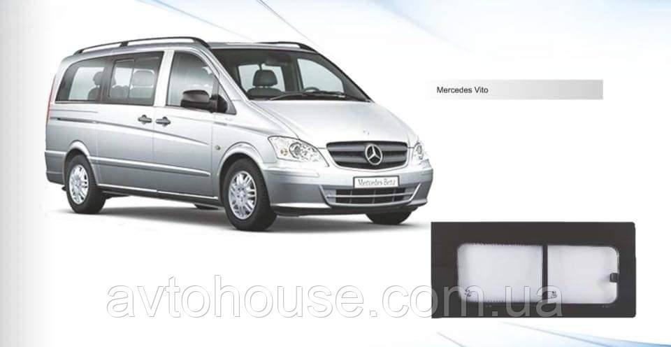 Стекло боковое с форточкой для Mercedes Benz Vito 2003-2014  левое - правое