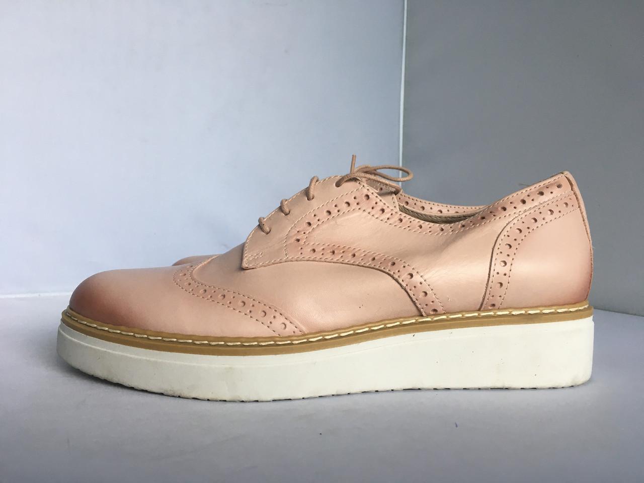 Женские туфли- броги San Marina, 36, 37 размер