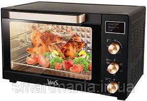 Духовка электрическая печь Vinis VO-4517B с конвекцией, грилем и подсветкой  45 L 1700W
