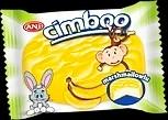 Печиво сендвіч з маршмеллоу в банановій глазурі «CIMBOO» 24 шт