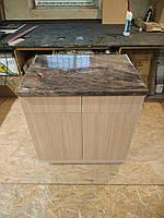 Тумбочка стол 80 см Дуб Бардолино Egger H 1146