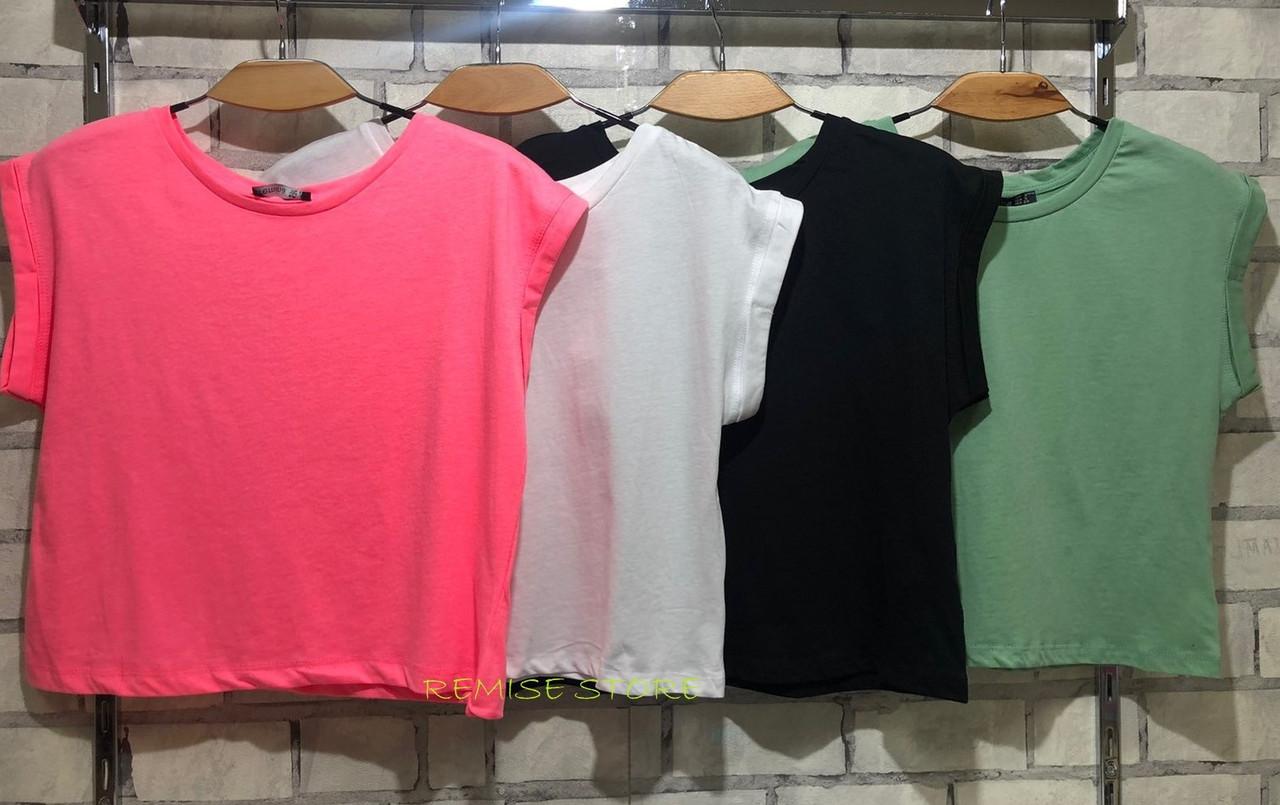 Женская базовая футболка 35-5062
