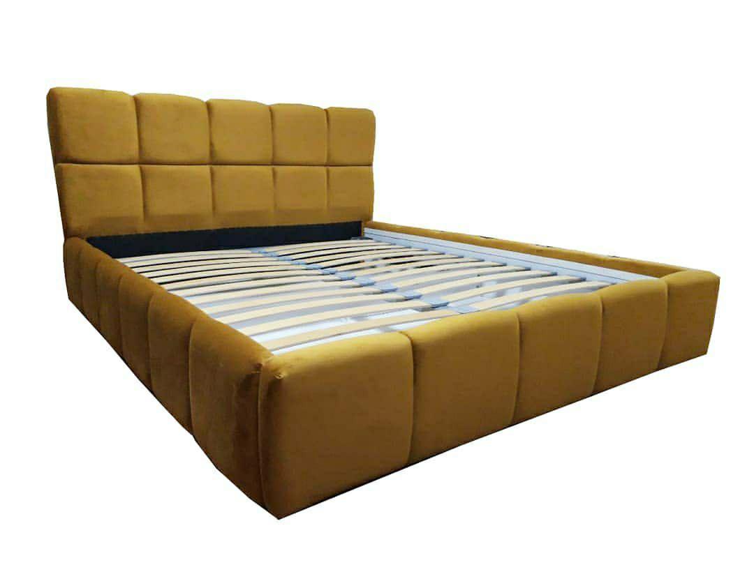 М'яке ліжко двоспальне Чікаго з підйомним механізмом 160х200