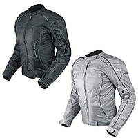 Куртка Леди Мотоцикл для Женщин Ткань Протекторы CE Съемный Тепловой Скутер