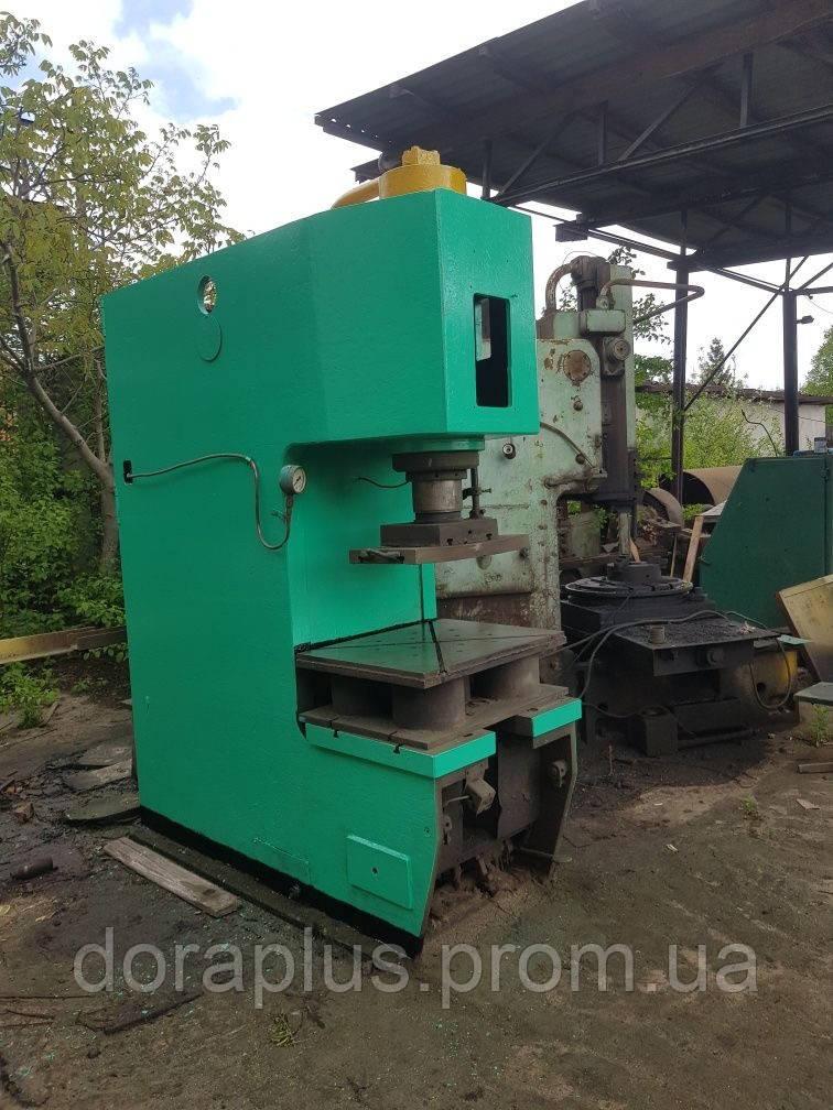 Пресс гидравлический П6330 усилием 100 тонн.