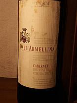 Вино 1994 года Далл'Армеллина Cabernet Италия, фото 2