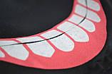 Маска для обличчя багаторазова тканинна чорна Токійський гуль, фото 3